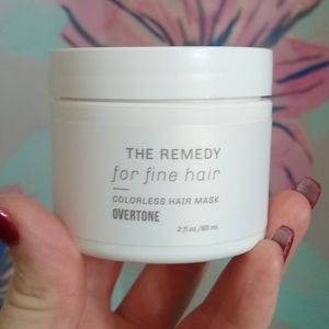 Travel Overtone The Remedy Hair Mask for Fine Hair